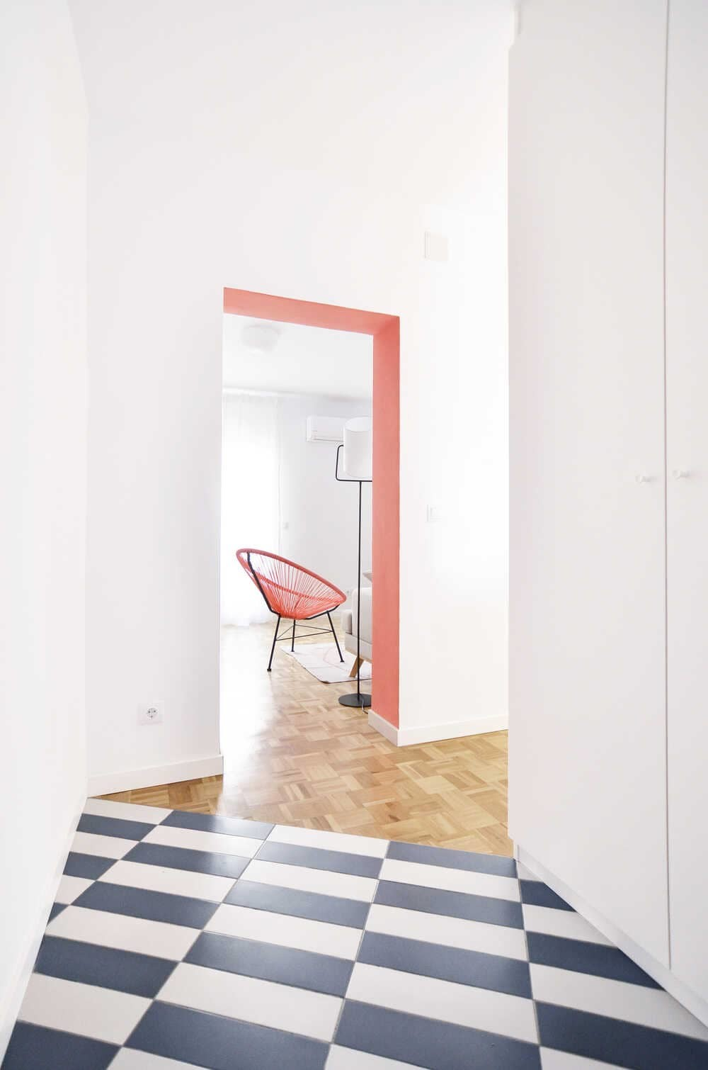 Pattern House, the Transformation of an Apartment + Home Office in Madrid