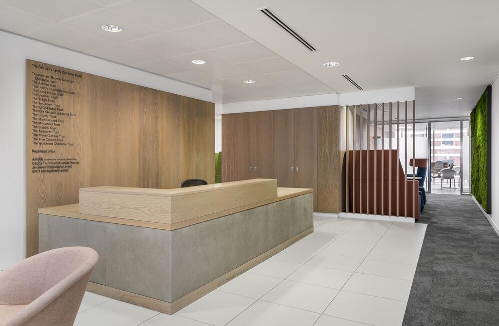 Sainsbury Family Charitable Trusts London Office by Oktra