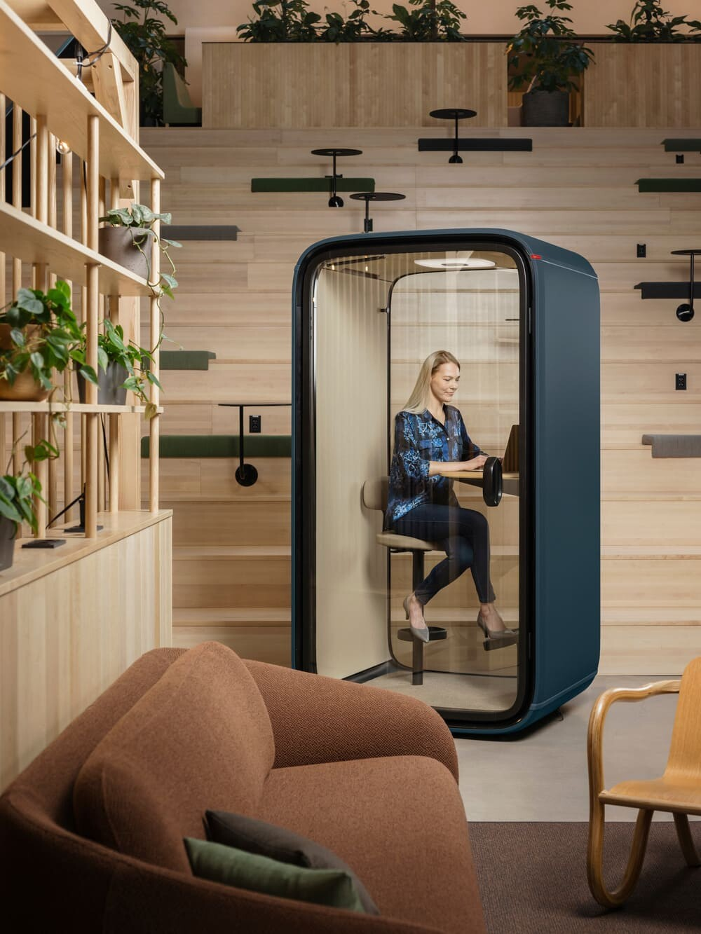 Framery Launches World's First Connected Phone Booth