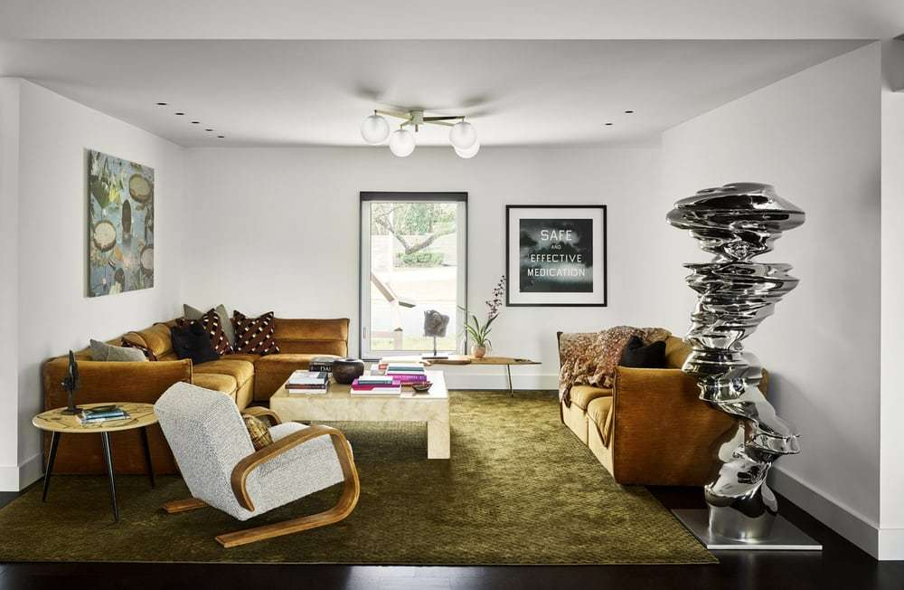 living room, Tobin Smith Architects and Mark Ashby Design