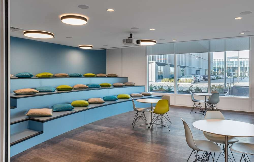 DisplayLink, Innovative and Sustainable Office Space by Oktra