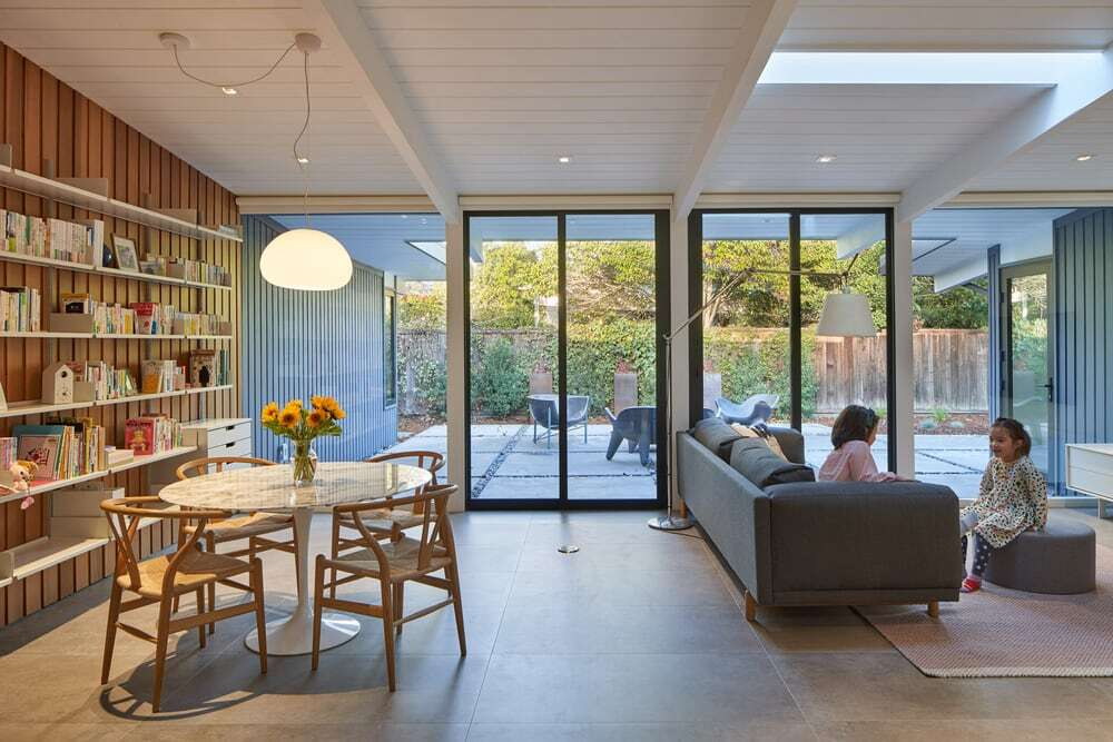 Greenmeadow Eichler House by Yama Architecture