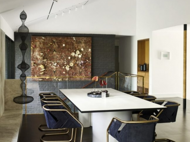 Lake Austin Scenic Home Renovated by Tobin Smith Architects and Mark Ashby Design Features a Spectacular Art Collection