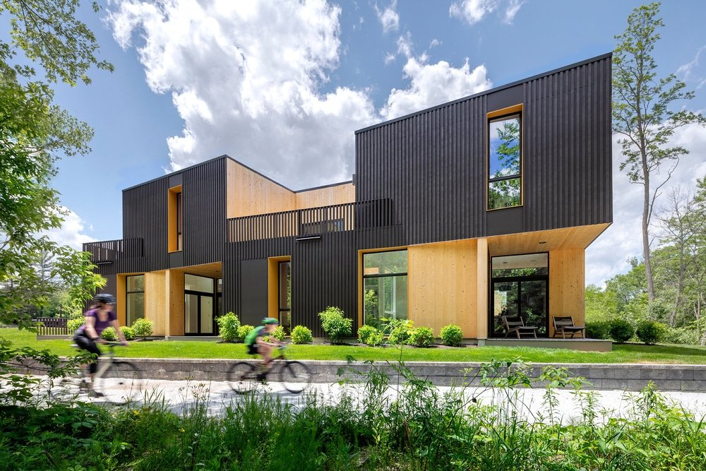 Cable Mills River Houses by Merge Architects