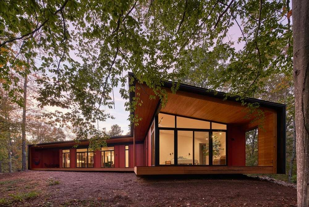 French Broad House by Sanders Pace Architecture