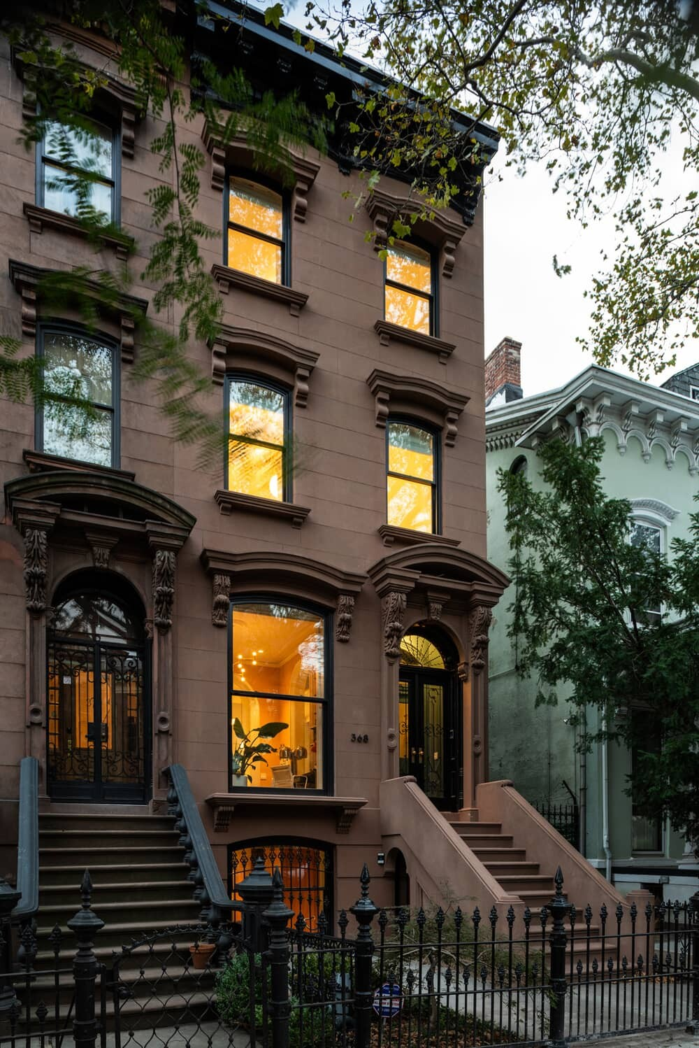 A Gut Renovation and Exterior Restoration of a Landmark Brooklyn Brownstone