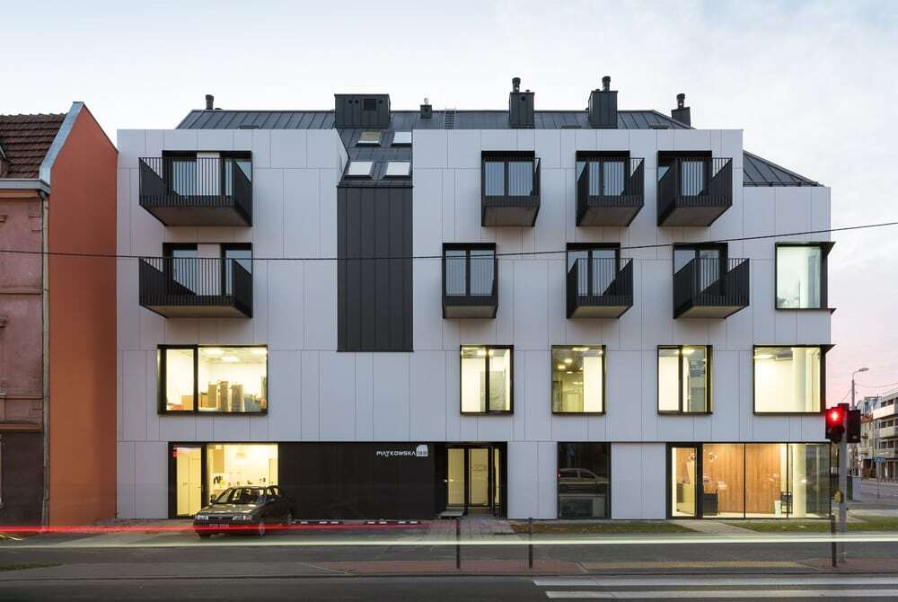 Commercial and Residential Building by Easst Architects