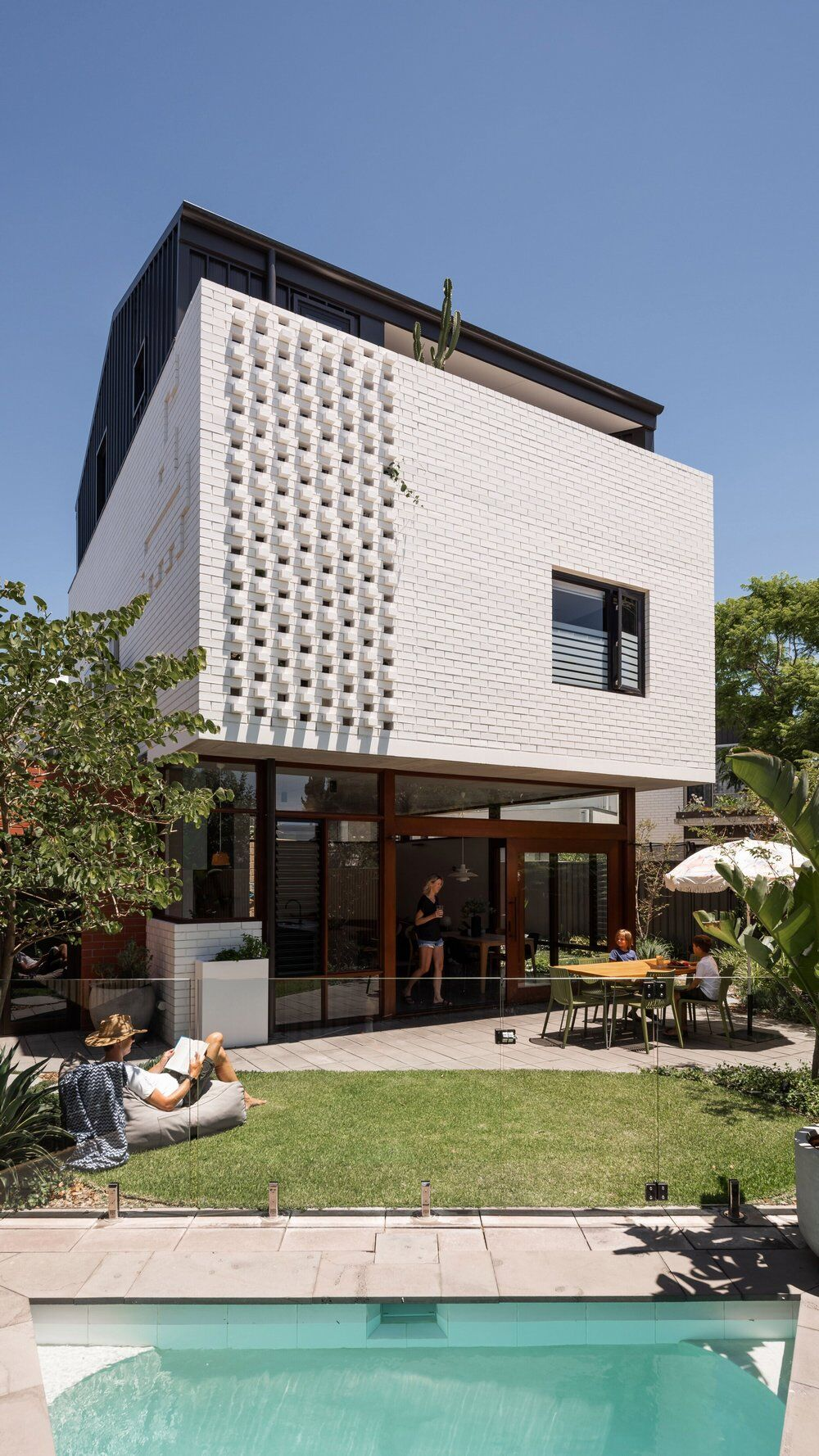 Carr Street House, Perth by Klopper & Davis Architects