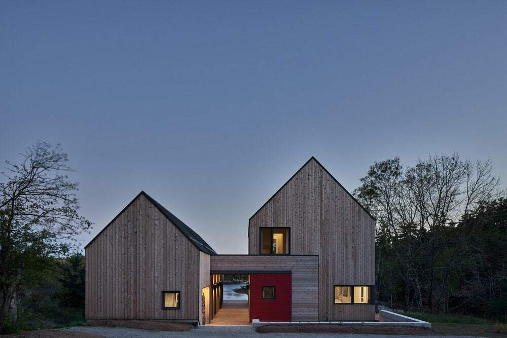 The Monocular House by RHAD Architects