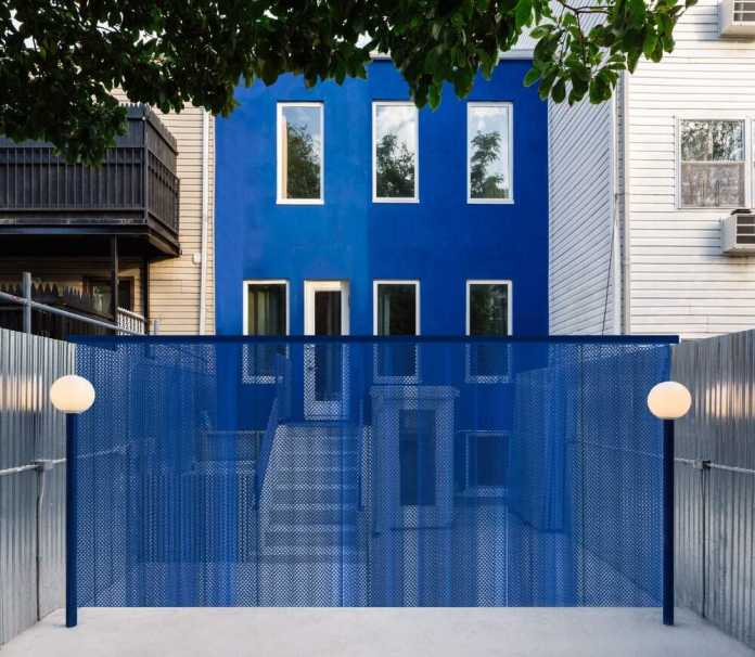The Blue Building by LOT Office for Architecture