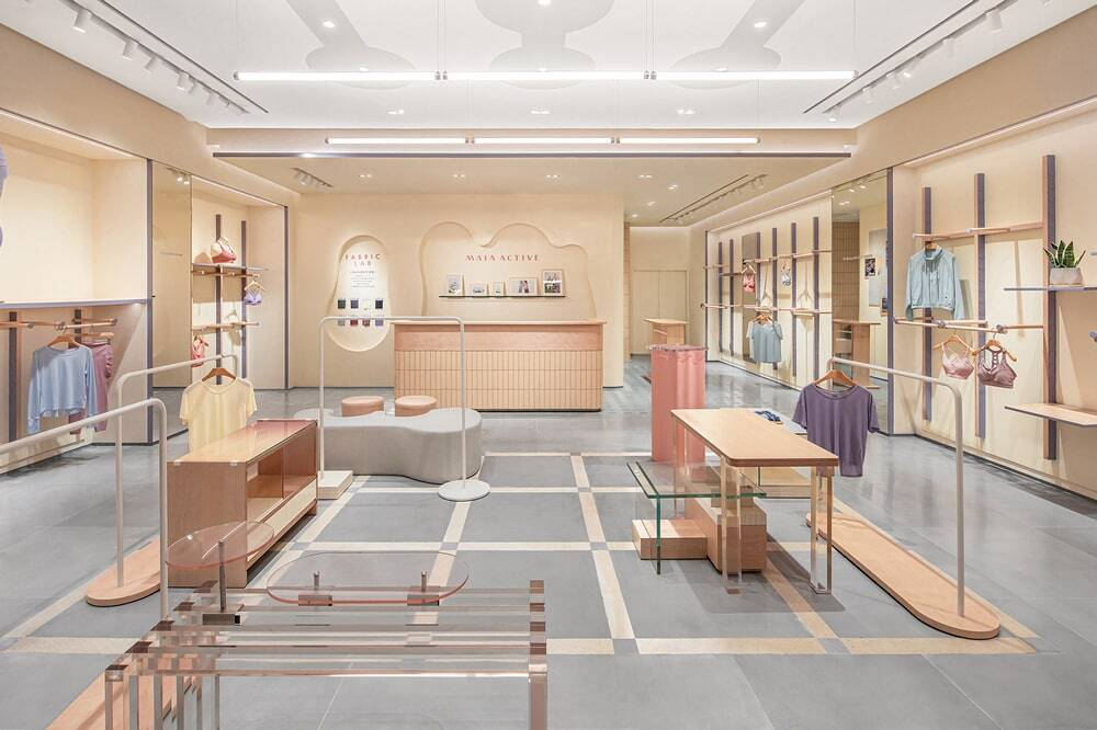 Maia Active Flagship Store - An Energy Field full of Macaron Colors