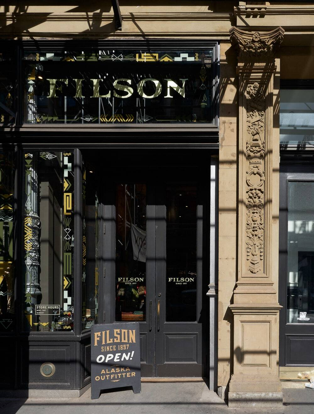 Filson New York Flagship Store by Heliotrope Architects