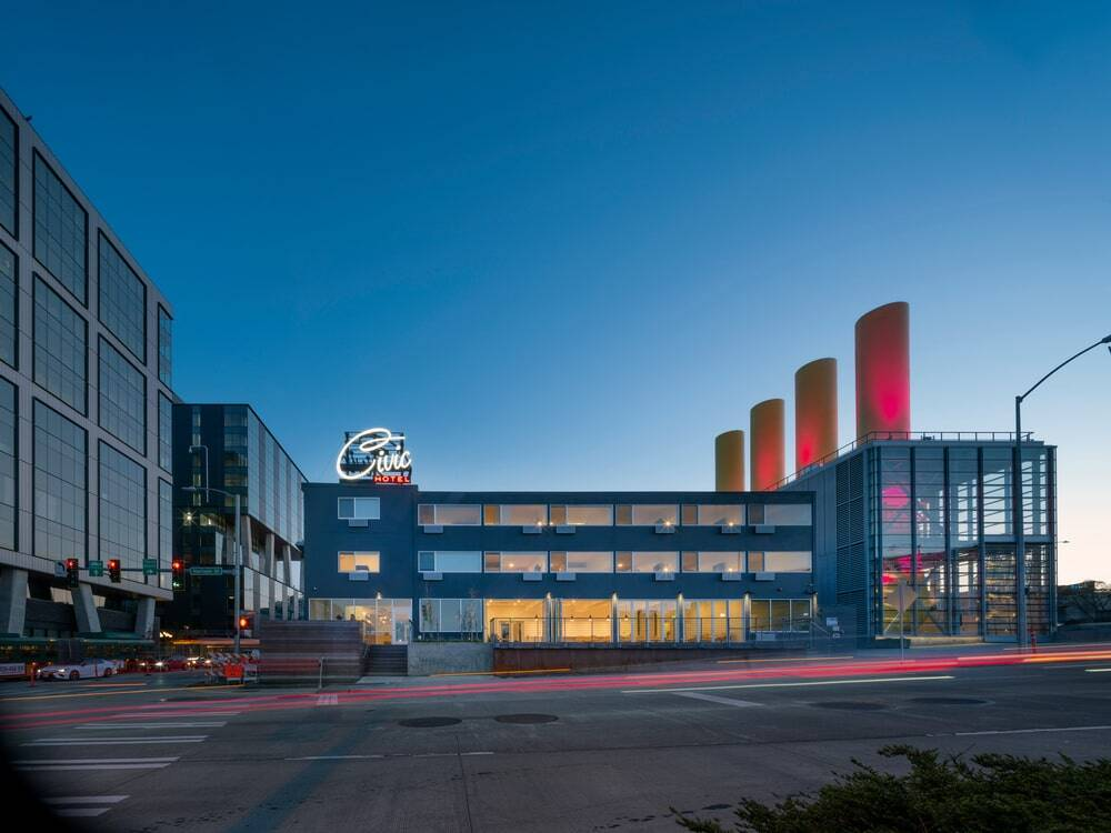 Wittman Estes Designs Civic Hotel, a Newly Renovated Boutique Hotel Near the Seattle Space Needle