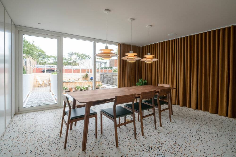 Dining room, Dupont Blouin Architects