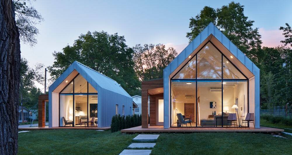The Houses on Oak Hill Avenue by Studio 804