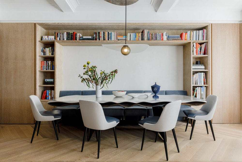 Carnegie Hill Apartment by Michael K Chen Architecture