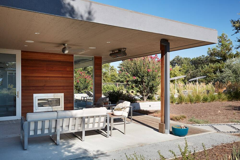 Sonoma Pool House and Guest House by Klopf Architecture