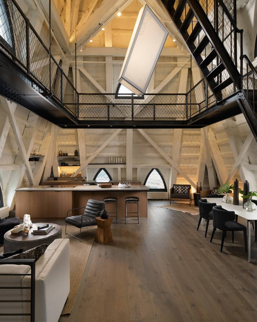 residential interior, Graham Baba Architects