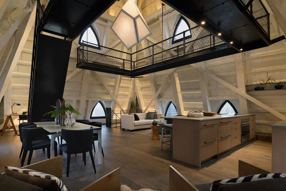 The Penthouse at Smith Tower in Seattle, Washington