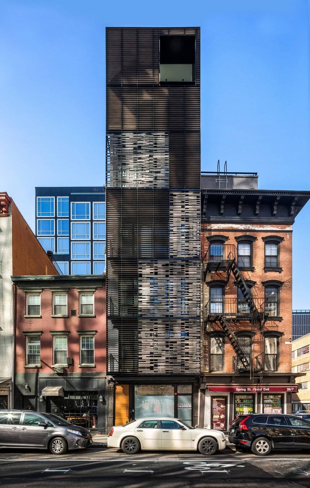 Archi-Tectonics Converted an Industrial Structure in SoHo into an 8-Story Family Home