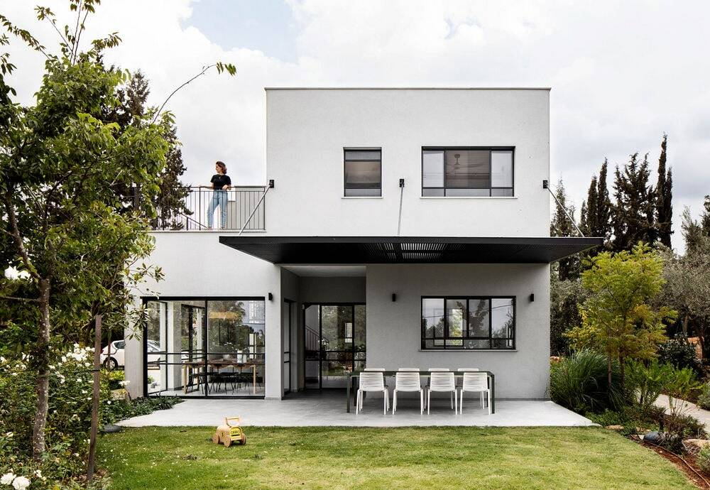 Modern-Scandinavian Styled House in Central Israel