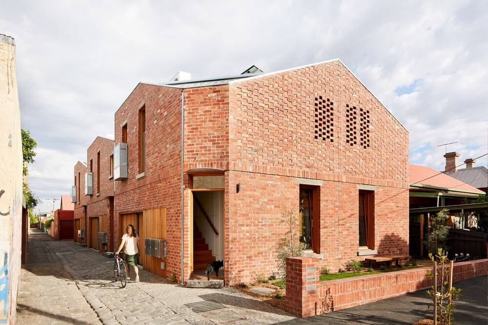 Davison Collaborative, a Three-Townhouse Project by HIP V. HYPE and Archier