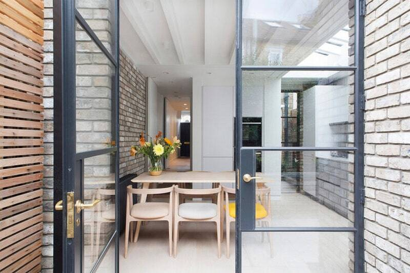 The Barnes Brick House by Yard Architects