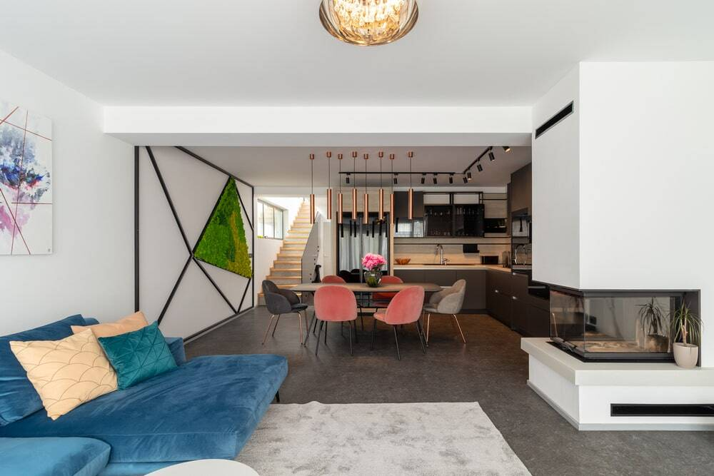 House Rebuilt to Suit the Needs and Taste of a Young Couple
