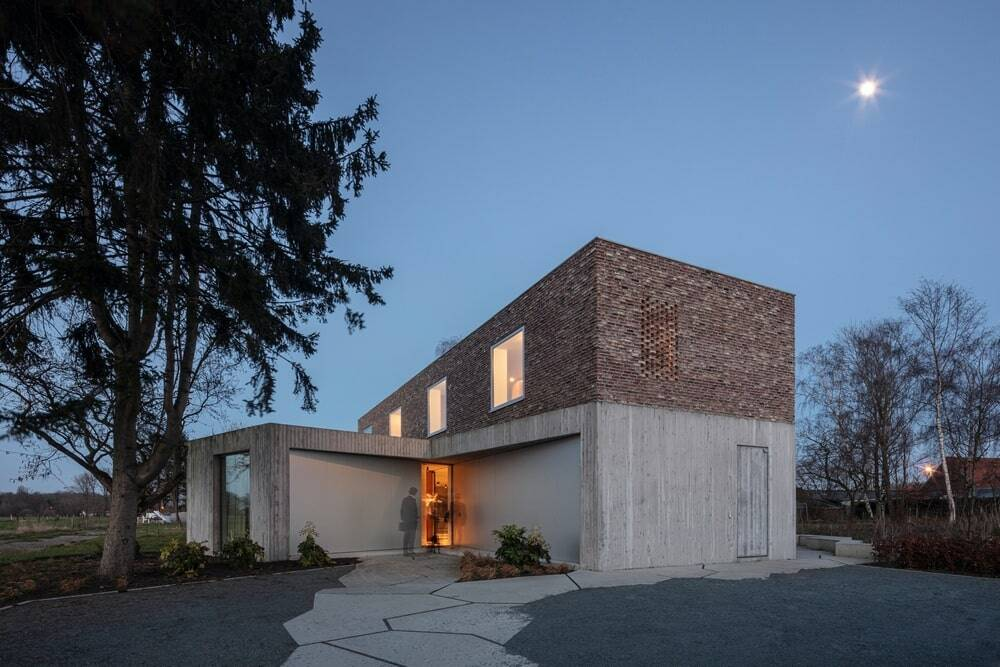 House DeDe, Belgium by OYO Architects