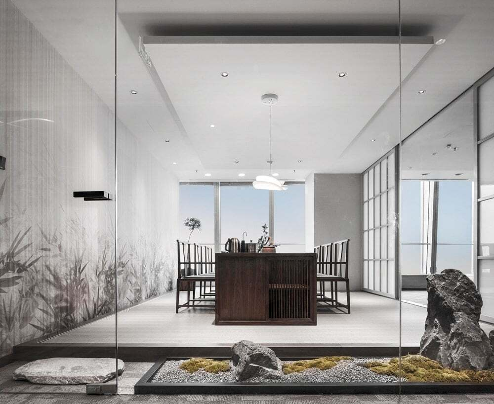 Office in China World Trade Center Tower III