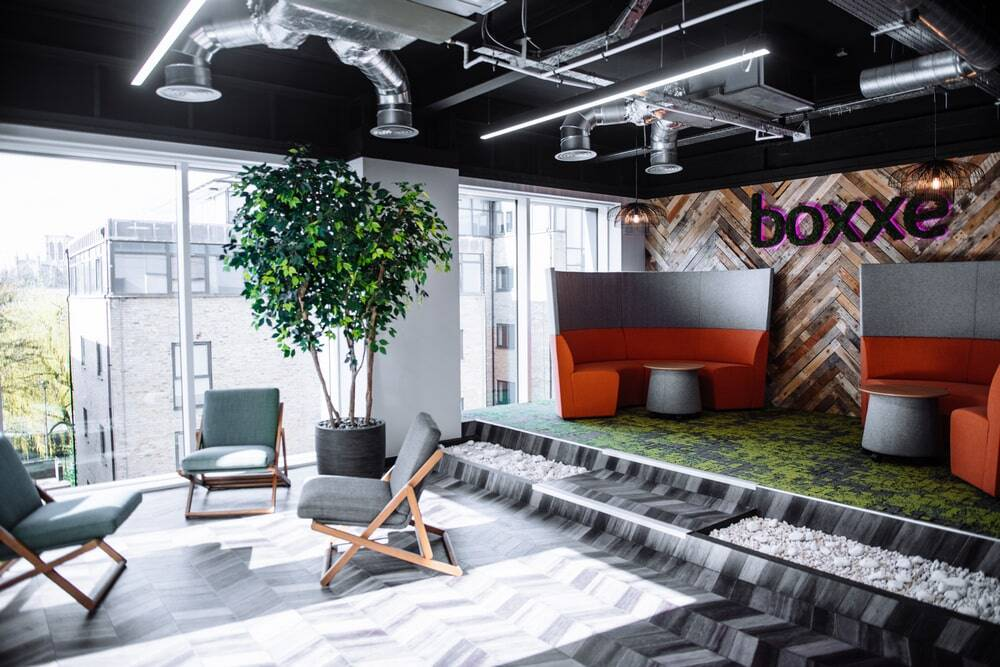Boxxe Office by Building Interiors