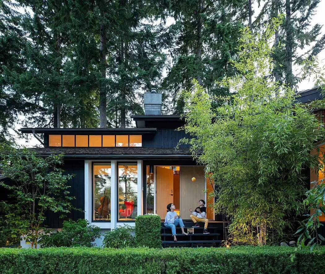 Berkley House, a Mid-Century Interior Renovation by Rsaaw