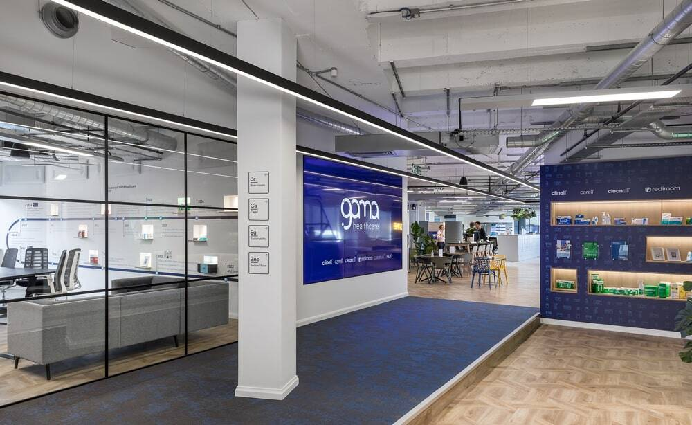 GAMA Healthcare London, New Workplace by Oktra