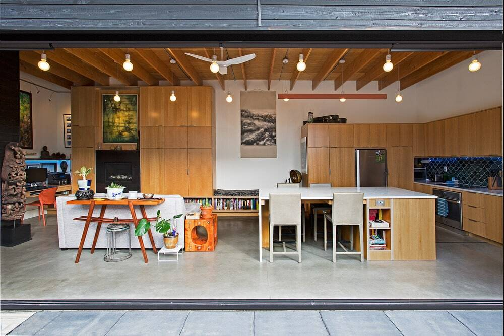 A Backyard Cottage as Primary Dwelling - and Urban Oasis