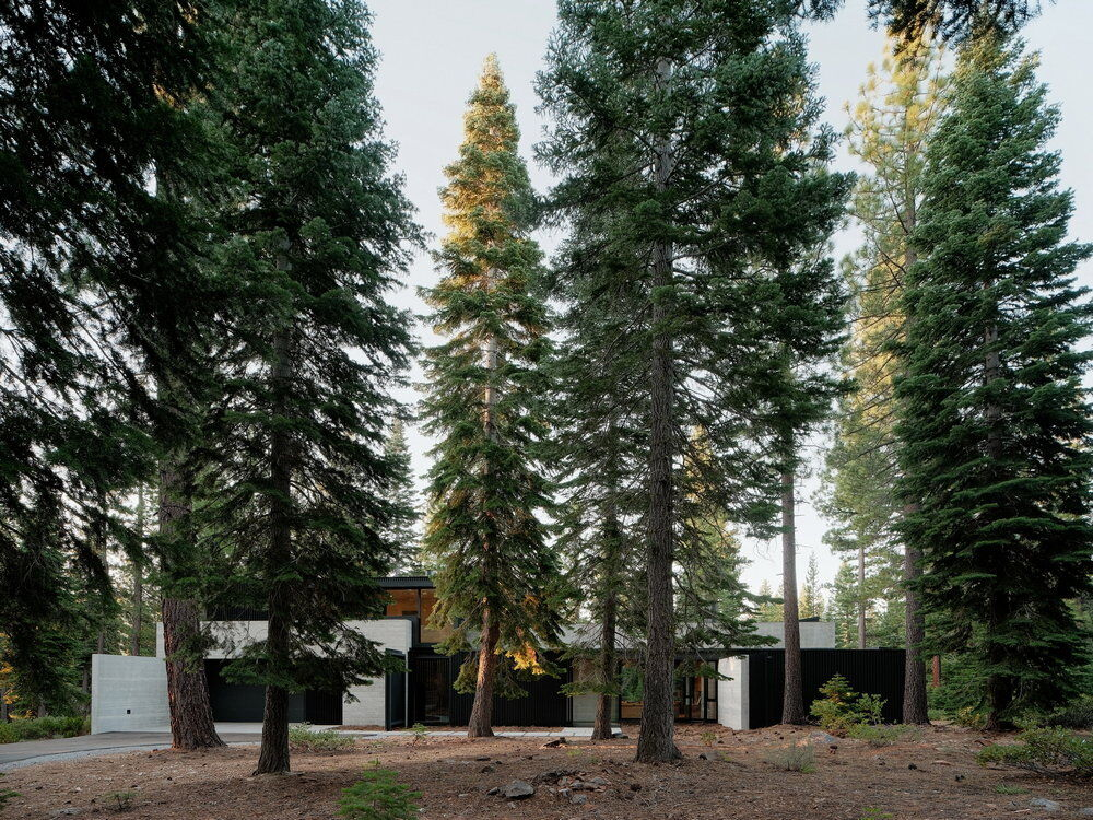 Forest Vacation Home by Faulkner Architects in Truckee, California