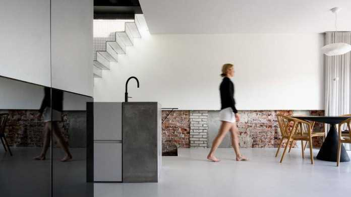 Sustainable Apartment in Amsterdam by Firm Architects