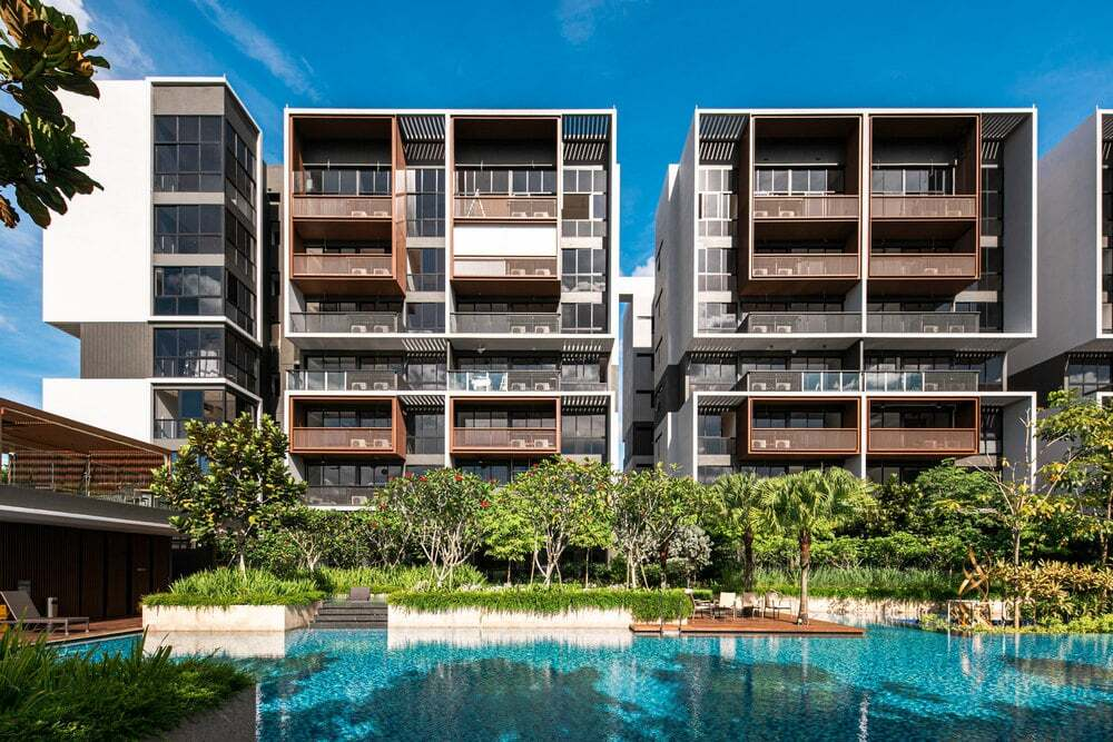 condominium units, Singapore by ONG&ONG